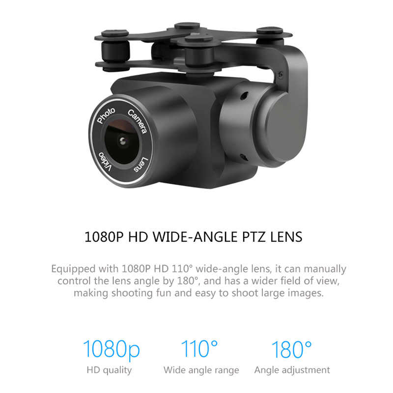 Drone X6S HD camera 480p / 720p / 1080p quadcopter fpv drone one-button  return flight hover RC helicopter VS XY4 VS E58