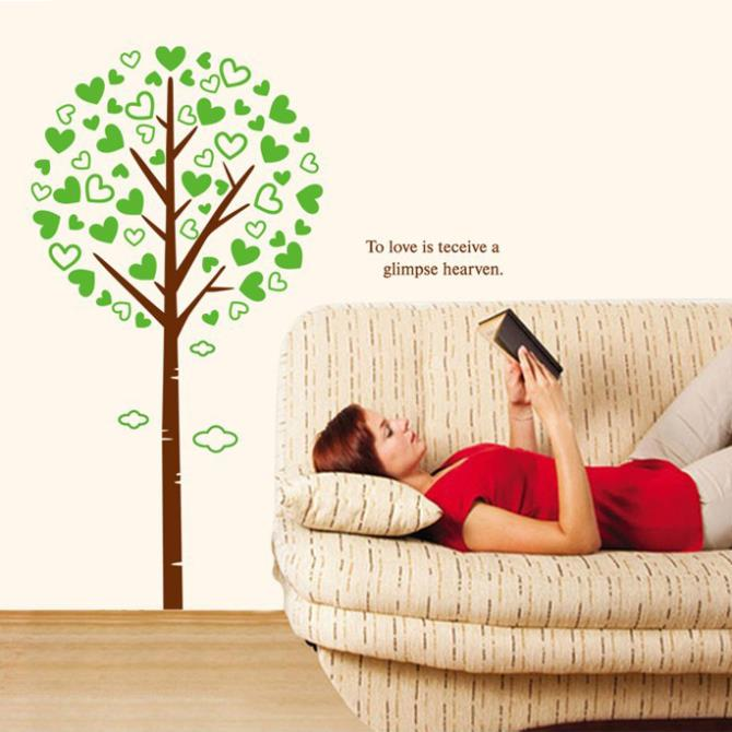 Aliexpress Com Buy Love Tree Wall Stickers Home Decor 3d Diy Poster For Child Home Decorations Family Tree Wall Decal From Reliable Sticker Print