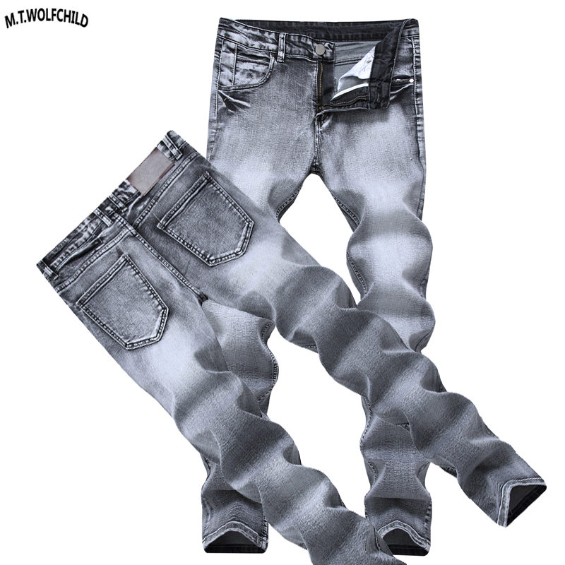 Fashion 2018 New Mens Denim Pants Hole   Jeans   Masculino Trousers skinny ripped distressed blue   jeans   casual mens dsq brand   jeans