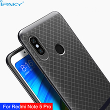 For Xiaomi Redmi Note 5 Pro Case iPaky Original Hybrid Hard PC Frame+Soft Silicone Back Phone Cases for Redmi Note5 Cover