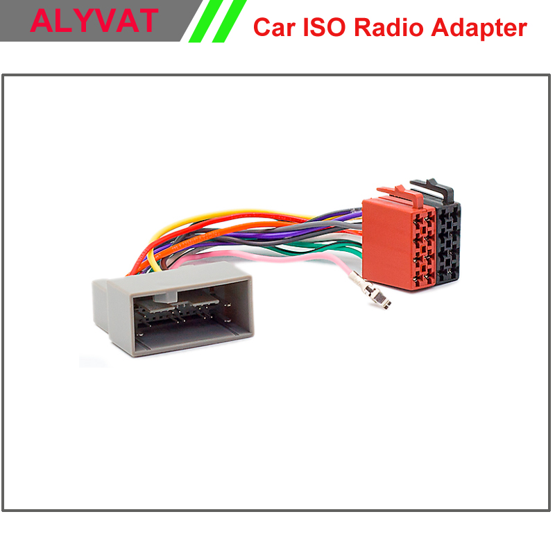 Car Radio Stereo Iso Wiring Loom Adapter Cable Connector For Ford