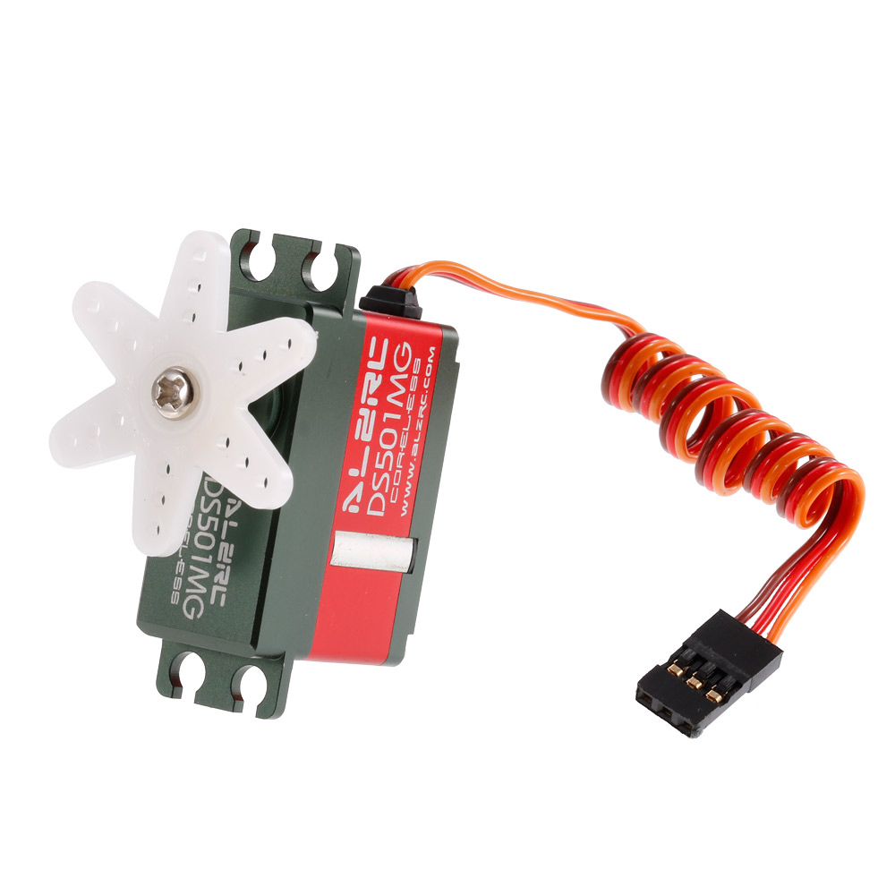 DS501MG Coreless Motor Tail Servo For ALZRC Devil 380 420 450 Fast SAB Goblin 380 RC Helicopter