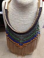 Xmas Gift ZA RA Cheap Vintage Necklaces Pendants Crystal Choker Statement Necklace F S