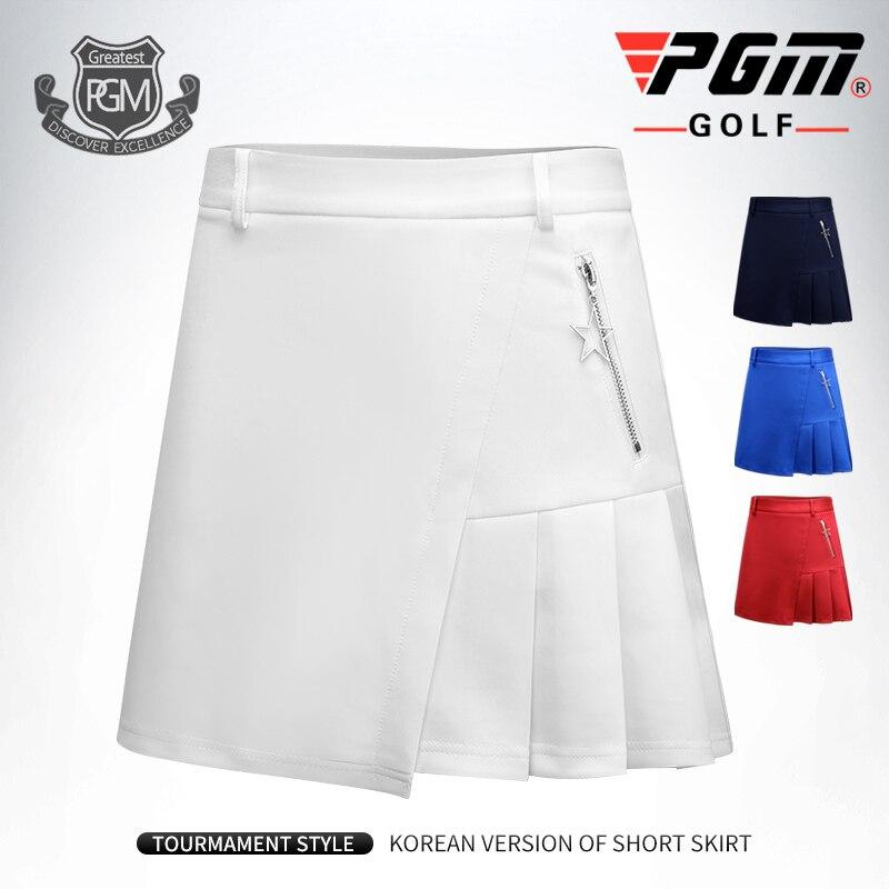 New PGM Golf Skirts Women's Summer Skirts Sportswear Tennis Skirt with Shorts Running Skort Star Pendant цена 2017