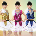 Children Jazz Dance Costume Boy Hip-hop Dance Costume Girl Group Stage Performance Singing Clothes Kids Dancewear