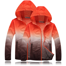 Summer women Quick Dry Skin Sun Protection Clothing Couple Coat Fashion Windbreaker Waterproof Men Women Jacket