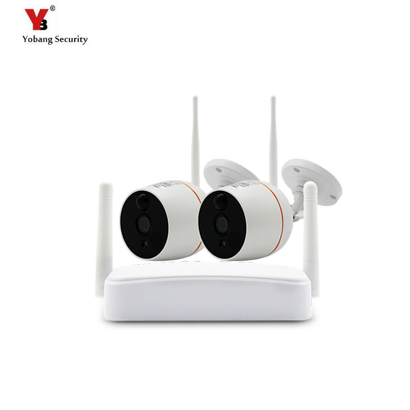 Wireless mini Security Camera System HD 1080P Wifi Mini NVR Kit Outdoor Video Surveillance Home Wireless IP Camera Set image