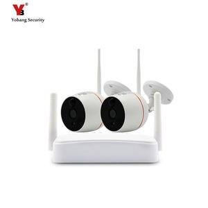 Image 1 - Wireless mini Sistema di Telecamere di Sicurezza HD 1080 P Wifi Mini NVR Kit di Video Sorveglianza Esterna Casa Senza Fili del IP Della Macchina Fotografica Set