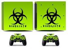 Biohazard 253 PS4 Pro Skin Sticker Vinyl Decal