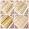 1 Hoja de Oro de Encaje Etiqueta Engomada Del Clavo 3D 6.5*5.5 cm Elegante Manicura Nail Art Sticker 689-692