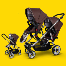 Easywalker Twins Baby Stroller Before And After The Double Baby Four Baby Accessories European Baby Strollers
