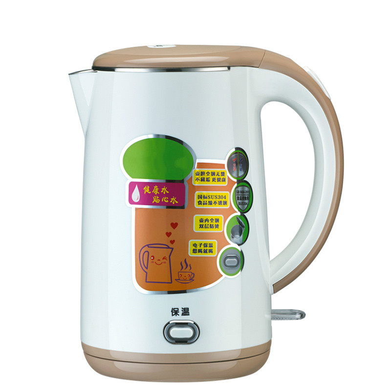 Electric kettle 304 steel home heating with automatic power failure