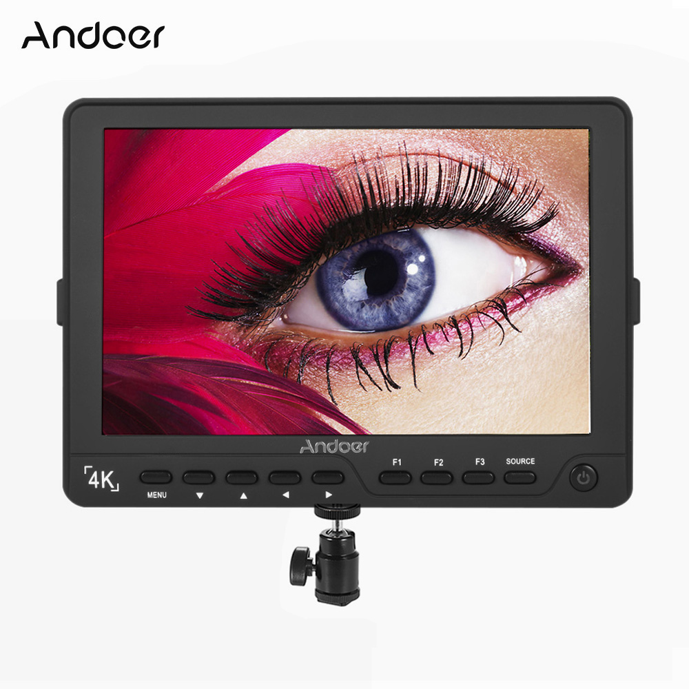 Andoer S7 Monitor Professional 7 inch On Camera Field Monitor IPS Full HD 1920 1200 Video