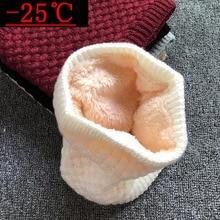 Зимний шарф для женщин и детей; шарф для мальчиков; утепленные высококачественные вельветовые шарфы; Детский шарф для девочек