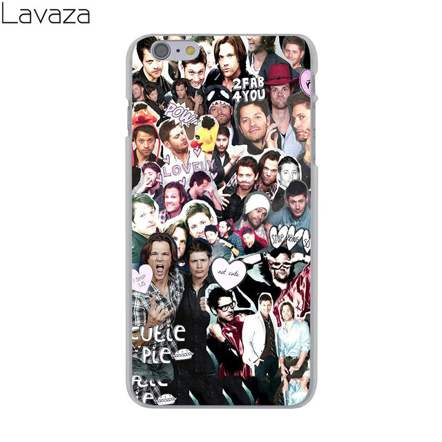Supernatural Jared Padalecki  Hard Cover Case for iPhone