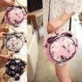Novo Encantador Bowknot Chapéu Impressão Saco Crossbody Sacos de Ombro Para As Meninas Da Moda Mulheres BS88