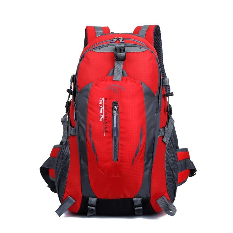 New Waterproof Tactical Backpack Hiking Bag Cycling Climbing Rucksack Laptop Backpack Travel Outdoor Bag Men Women Sports Bag