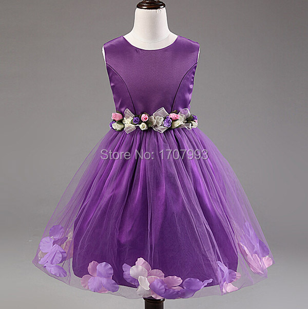 Purple Wedding Dresses for Girls