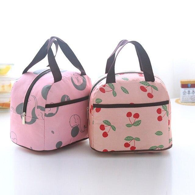 Portable lunch bag small food  bag  belt bag
