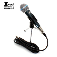 лучшая цена Mini Wired Mobile Phone Microphone Condenser Mic Android & IOS System For Cellphone Tablet PC Karaoke Smartphone Recording Music
