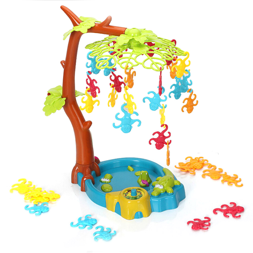 Kids Plastic Family Fun Toys Funny Monkey Tree Game Children Gift - A Balancing Game with Monkeys Hanging in a Tree cool educational toys dump monkey falling monkeys board game kids birthday gifts family interaction board game toys for children