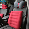 Breathable TPU Fabrics Car Travel Back Support Flight Car Inflatable Car Lumbar Support Air Cushion Car Inflatable Seat Cover