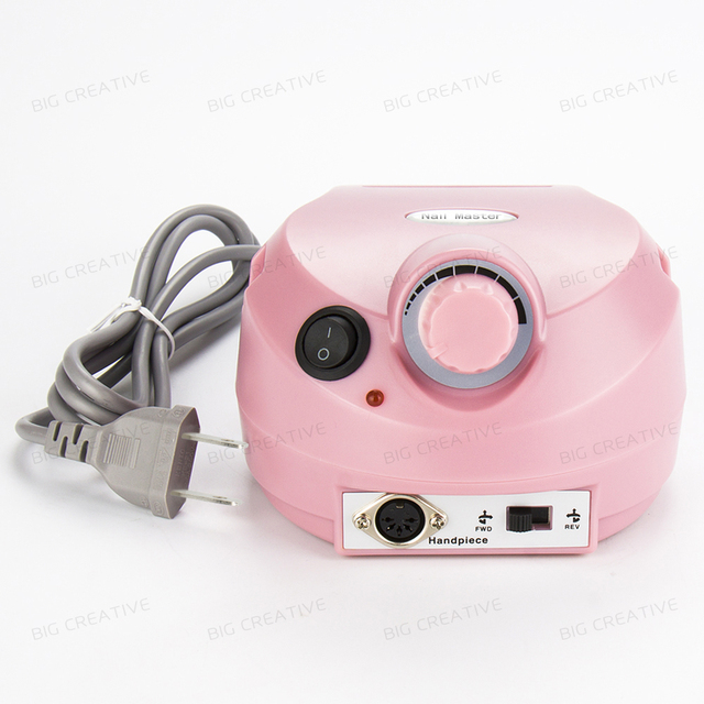 Pink Nail Tools Electric Nail Drill Machine 30000RPM Nail Art Equipment Manicure without Accessory(without handle and pedal)
