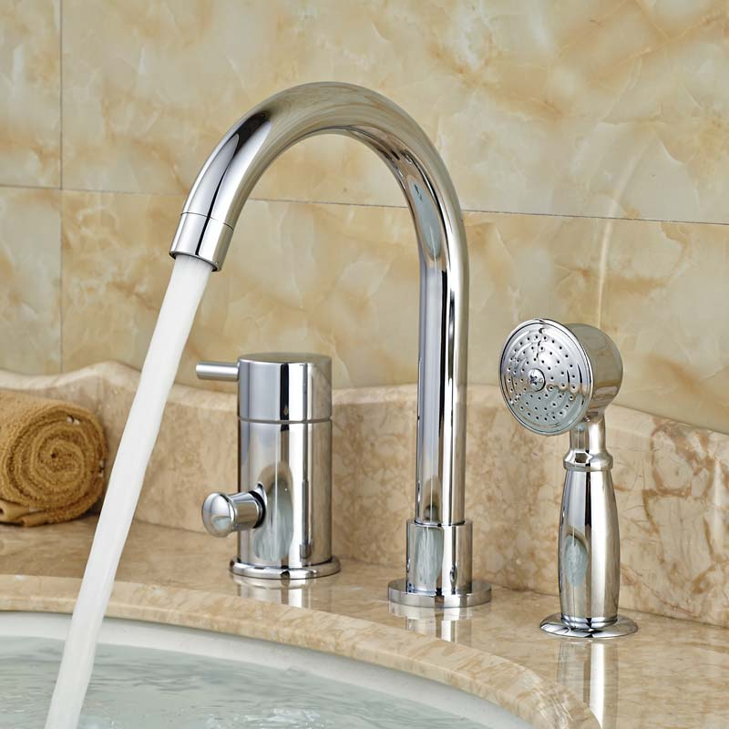 2016 Newly Design Product High Quality Bathroom Bathtub Mixer Faucet Chrome with Hand Shower supply chain design with product life cycle considerations