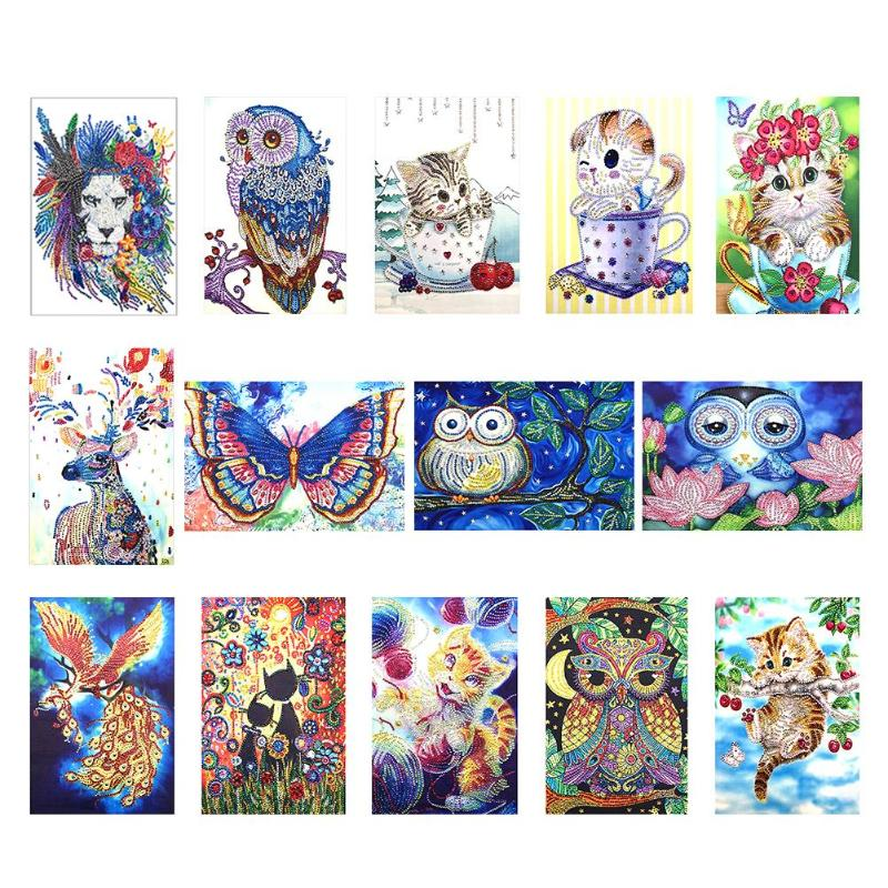 5D DIY Special Shaped Diamond Painting Angel Embroidery Kits Room Home Decors