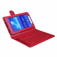 For Samsung Galaxy Tab 3 Lite Keyboard Silicon Wireless Bluetooth Keyboard T110 T111 7 Tablet Keyboard