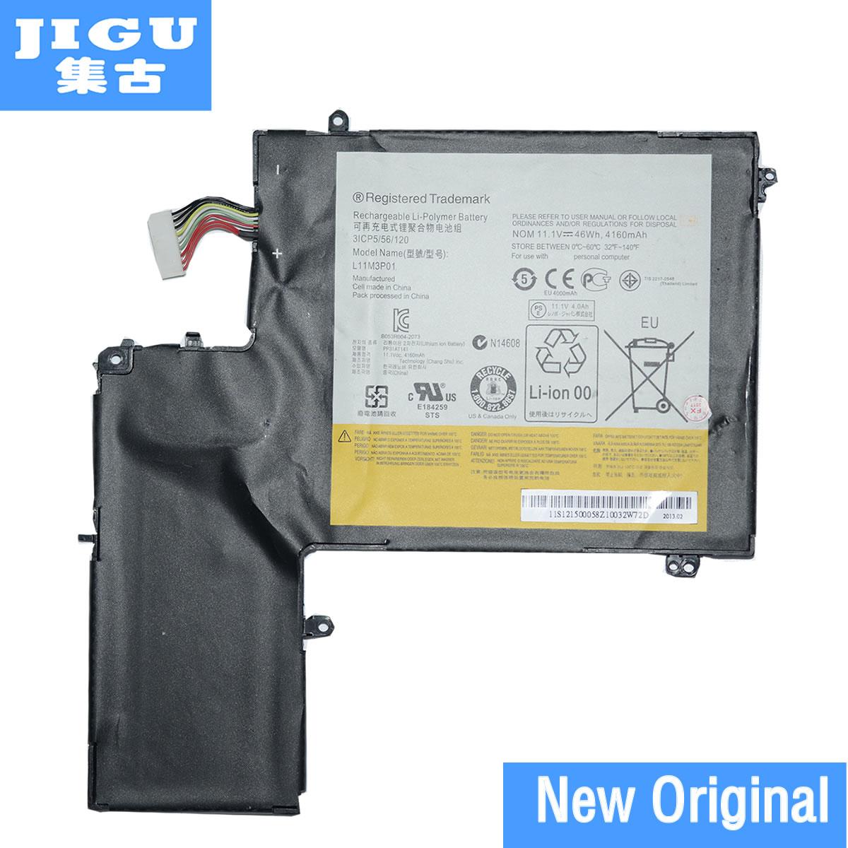 JIGU 3ICP5/56/120 L11M3P01 Original Laptop Battery For Lenovo For IdeaPad U310 11.1V 46WH