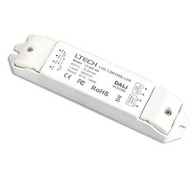 Ltech DALI Dimming Driver DC 12-24V 6A Output PWM Dimmable Driver DALI Bus LED Driver LT-401-6A(China)