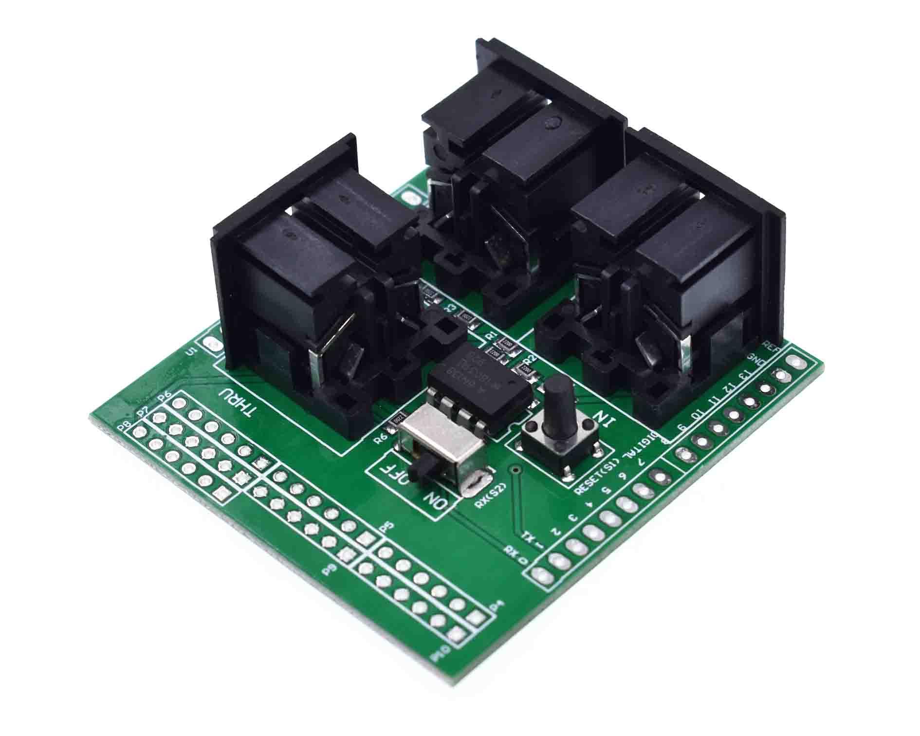 Миди-щит музыкальная коммутационная плата инструмент цифровой интерфейс адаптер пластина для совместимого модуля адаптера Arduino