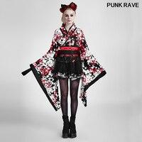 Лолита Японии кимоно из трех частей Rabbite платье принцессы Harajuku широкая лента ремень Косплэй вечерние Сладкий горничной платье Панк RAVE LQ 001