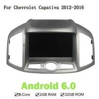 HD Screen 8 Inch 2GB RAM Octa Core Auto PC Android 6 0 Car DVD GPS