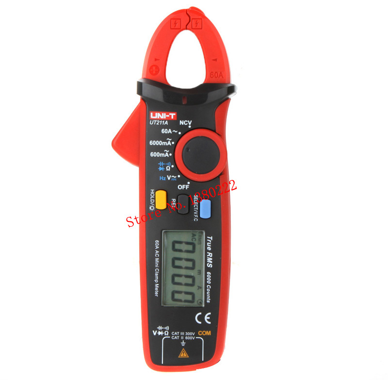 UNI-T UT211A 6000 Counts  Digital Multimeter True RMS high precision Mini Clamp Meters Auto Range V.F.C. NCV Capacitance пиджак mango man mango man he002emtso81