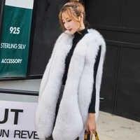ZADORIN nouveau Designer hiver fausse fourrure Gilet femmes fausse fourrure Gilet pelliccia grande taille fourrure manteau manteau fourrure femme bontjas
