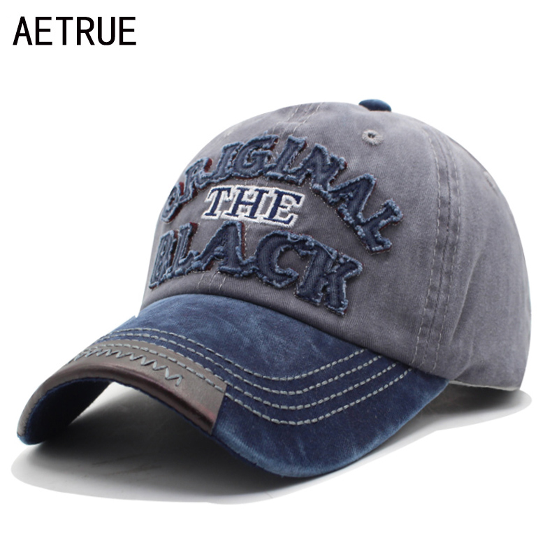 AETRUE Brand Men Snapback Women   Baseball     Cap   Bone Hats For Men Casquette Dad   Caps   Fashion Gorras Adjustable Cotton Letter Hat