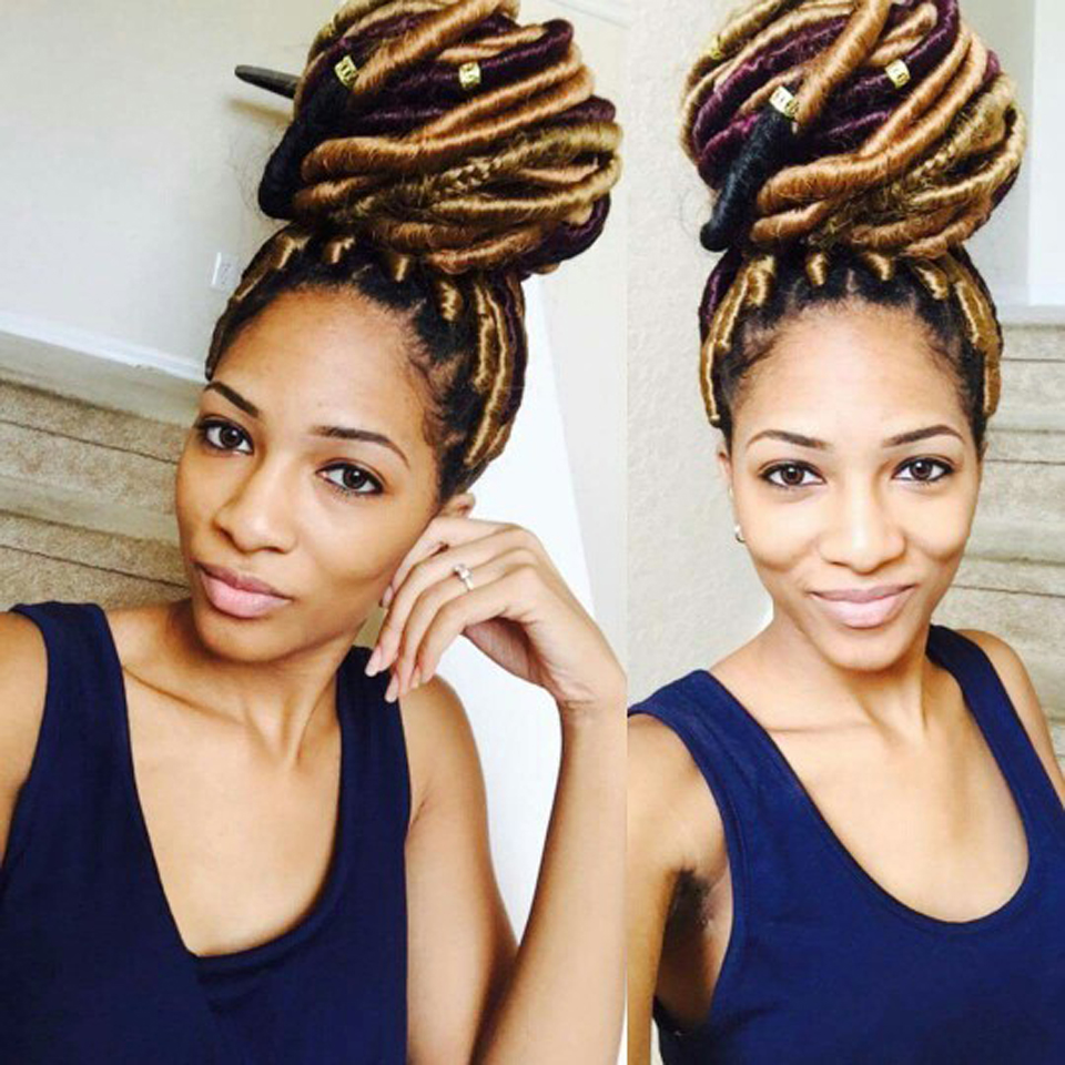 Synthetic Crochet Hair Locs 2x Bobbi Boss Faux Locs Braids Freetress