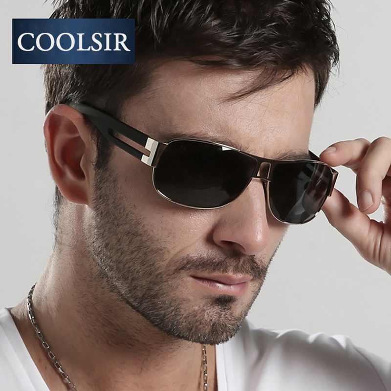COOLSIR 2017 New Brand Designer UV 400 4 Color Polarized s