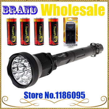 Free Shipping 1set TrustFire AK-91 5 Switch Modes 18000 Lumen 15*CREE XM-L T6 LED Flashlight Torch