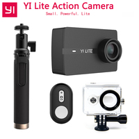 In Stock Xiaoyi YI Lite Action Camera Real 4K Sports Camera with Built in WIFI 2 Inch LCD Screen 150 Degree Wide Angle Lens