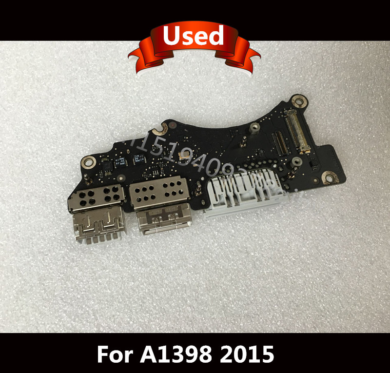 For 15 MacBook pro retina A1398 IO Board USB Board Power board 2015 820-5482-07 jackie kay wish i was here