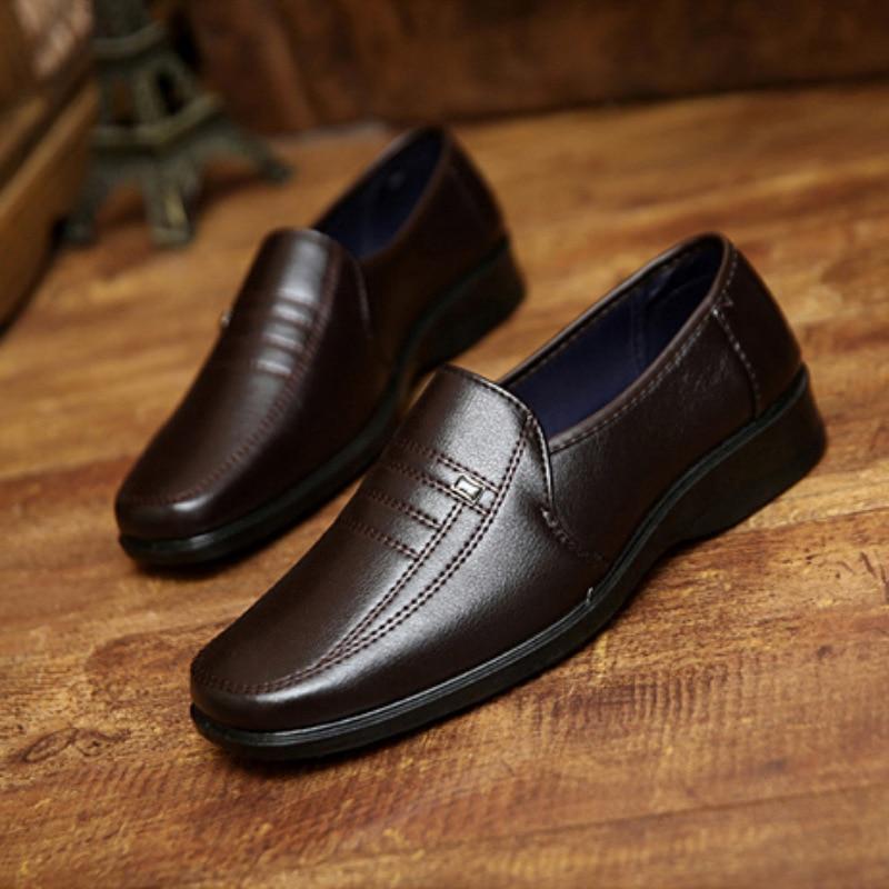 Online Get Cheap Mens Leather Dress Shoes -Aliexpress.com ...