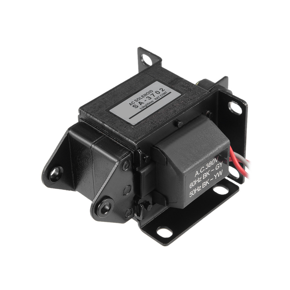 Uxcell 220/380V AC Solenoid Electromagnet Energy Saving Tractive Magnet Home Improvement 1PCS