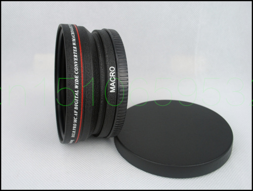 77mm 0.45x WIDE Angle + Macro Conversion LENS 77 0.45 Black ghrelin 77
