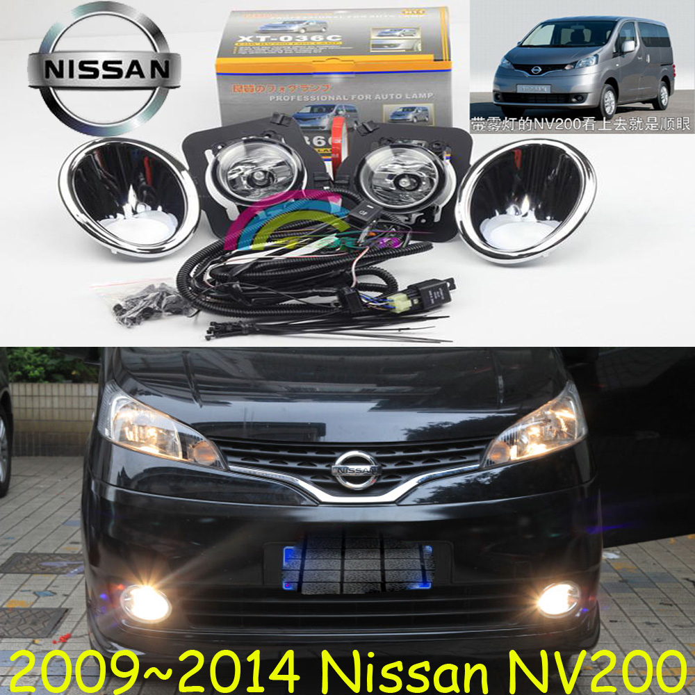 NV200 fog light,2009~2015,2pcs,NV200 halogen light,Free ship! NV200 headlight;NV 200 nv200 fog light 2009 2015 2pcs nv200 halogen light free ship nv200 headlight nv 200