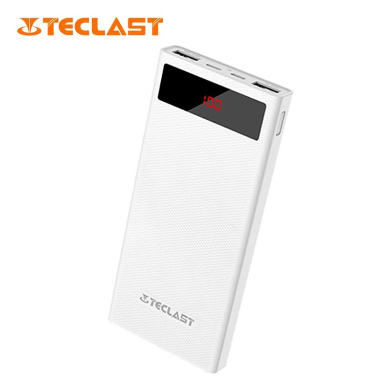 Original Teclast T200CG 20000 mAh Powerbank Dual USB 2 1A High speed Output Diamond Pattern Anti