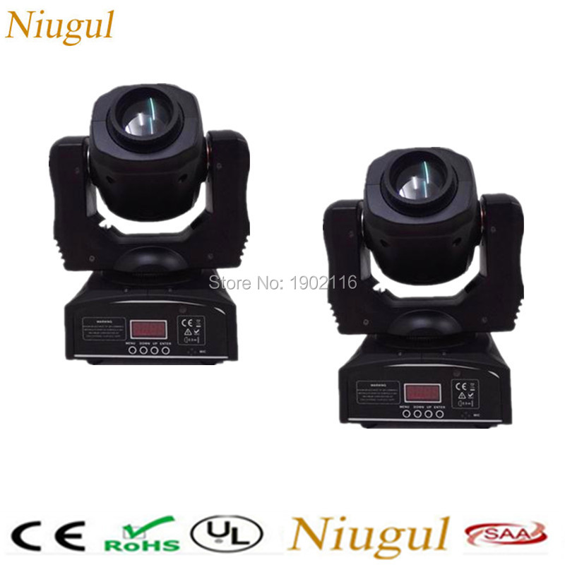 2pcs/lot 60W Led Moving Head Light LED Spot/Pattern Rotation Gobo DJ Stage Disco Light 60W Nightclub Party Lights Fast shipping led 30w spot moving head lights party disco dj stage lighting 30w mini gobo projector dmx stage effect light led pattern lamps