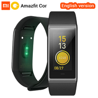 English Version Original Huami Amazfit Cor MiDong Smart Bracelet 5ATM Waterproof 2 5D Color IPS Touch